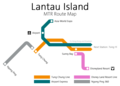 Lantau MR route map 2010.png
