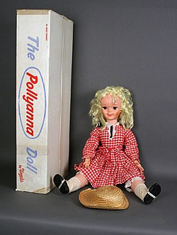 Large Vinyl Pollyanna Doll