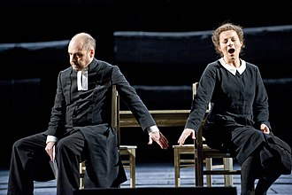 Stiffelio - Lars Cleveman as Stiffelio and Lena Nordin as Lina, Royal Swedish Opera 2011