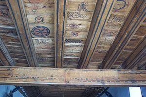 San José de Gracia Church - Image: Las Trampas eglise plafond entree