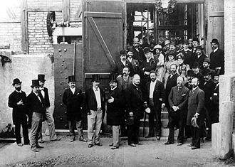 International Electrotechnical Exhibition - Image: Lauffen Frankfurt 1891b