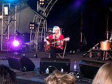 Laura Marling, who won 'Best British Female', performing in 2007. Image: DearCatastropheWaitress.