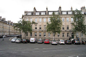 Laura Place, Bath - Image: Laura Place Bath