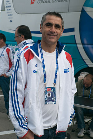Laurent Jalabert - Jalabert at the 2009 UCI Road World Championships