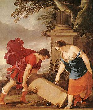 Laurent de La Hyre - Image: Laurent de La Hyre Theseus and Aethra WGA12325