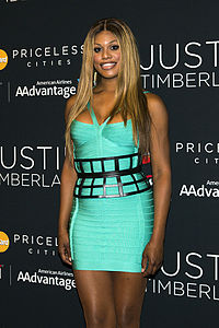 Laverne Cox A Transgender Actress Who Plays A Trans Woman On The Show Orange Is The New Black