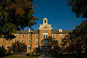St. Cloud State University - Lawrence Hall, one of the oldest buildings on campus.