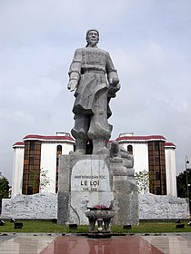 Tượng đài Lê Lợi tại Thành phố Thanh Hóa