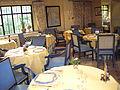 Le Manoir aux quat saisons restaurant interior, Oxfordshire.JPG