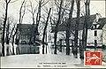 Le moulin de Douvres lors des inondations de 1910.jpg