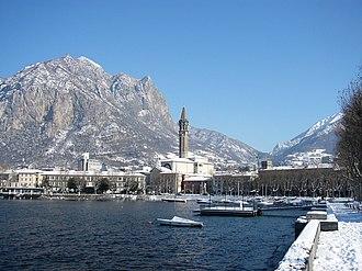 Lecco - Image: Lecco e il Monte San Martino
