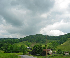 Lee County, Virginia - Lee County landscape near Pennington Gap