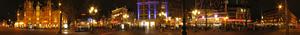 Leidseplein - Image: Leidseplein Amsterdam Night Panorama