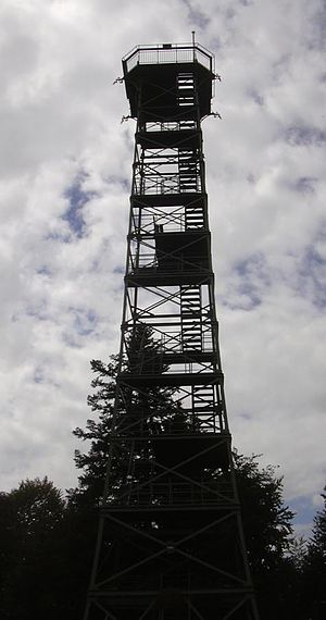 Lemberg (Swabian Jura) - Lemberg observation tower