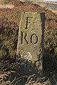 Lengthman's marker stone - geograph.org.uk - 1498741.jpg