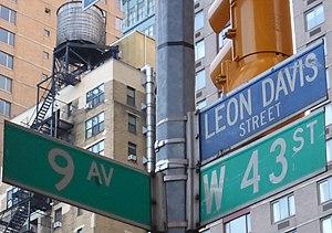 Leon J. Davis - Leon Davis Street