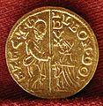 Leonardo donà, mezzo zecchino, 1606-12.jpg
