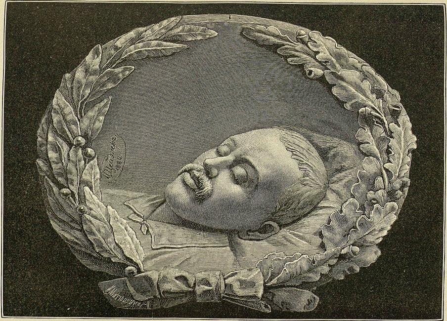 Lermontov Mikhail Urievich Deathbed portrait