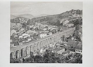 Les aqueducs a Rio de Janeiro