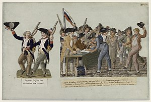 Levée en masse - Levée en masse in 1793