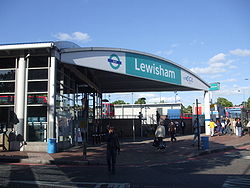 Lewisham DLR stn entrance.JPG