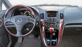 Lexus RX - Interior