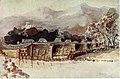 Lhasa - Facing P322- Gyantse jong, from Chang-lo bridge.jpg