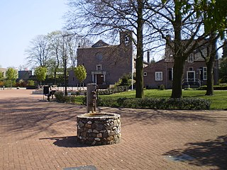 Lievelde Village in Gelderland, Netherlands