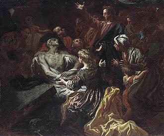 Livio Mehus - The Raising of Lazarus