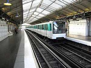 Quai de la Gare (Paris Métro) - Image: Ligne 6 Quai de la Gare 2