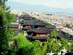 Skyline of Lijiang