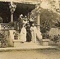 Liliuokalani and group at Samuel Parker's residence, 1915 (PPWD-16-4-012).jpg