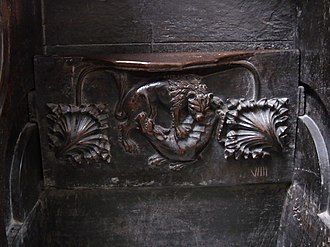 St Mary's Cathedral, Limerick - Choir misericords