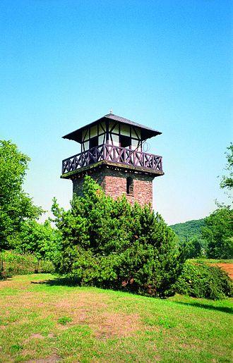 Rheinbrohl - Reconstructed Roman watchtower