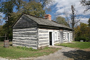 Lincoln Log Cabin State Historic Site, near Ch...