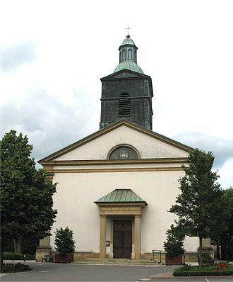 Lintgen - The church