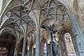 Lisbonne - Hiérominites - Eglise - Plafond.jpg
