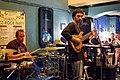 Live jazz music in Harats Pub, Krasnodar, August, 2012-2.jpg