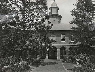 Old Liverpool Hospital - The building in the Liverpool State Hospital era