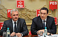 Liviu Dragnea, Victor Ponta, reuniunea BPN a PSD - 06.01.2014 (11797838516).jpg