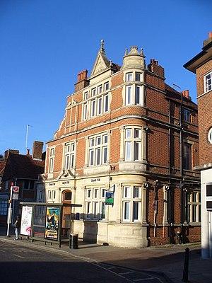 Leatherhead - Bank in Leatherhead town centre