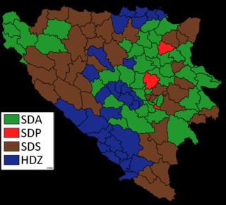 1990 Bosnian municipal elections