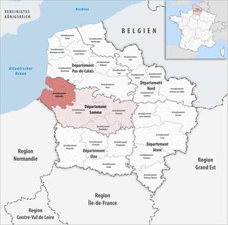 Arrondissement of Abbeville Arrondissement in Hauts-de-France, France