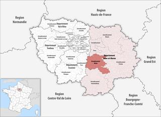 Arrondissement of Melun Arrondissement in Île-de-France, France
