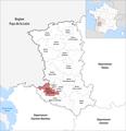 Locator map of Kanton Frontenay-Rohan-Rohan 2019.png