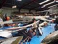 Lockheed F-104G Starfighter 21+96 and unmarked Mignet HM14 Pou-de-Ciel.14 Pou-de-Ciel ss.JPG