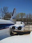 Lockheed Jetstar Hound Dog II Graceland Memphis TN 2013-04-01 007.jpg