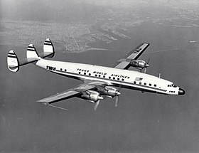 Lockheed L-1649 Constellation « Starliner » aux couleurs de la TWA