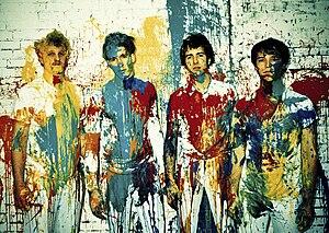 Locksley (band) - from left to right: Sam Bair, Jordan Laz, Jesse Laz, Kai Kennedy