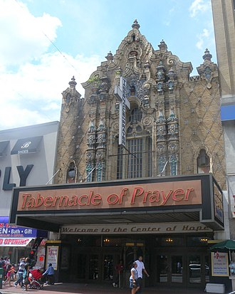 Jamaica, Queens - Loew's Valencia, a former theater opened in 1929